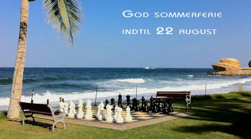 sommerferie i august